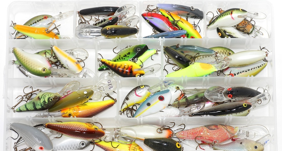 About us gruv fishing for Bass fishing tackle box